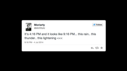 Developers create minute-by-minute novel from real tweets