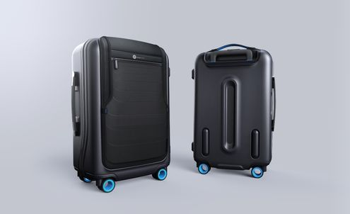 Smart suitcase designed to make travelling less stressful