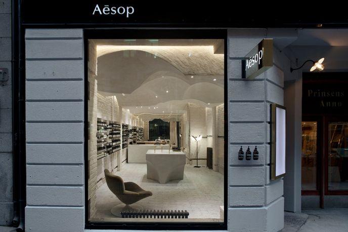 Aesop store by Snøhetta, Oslo