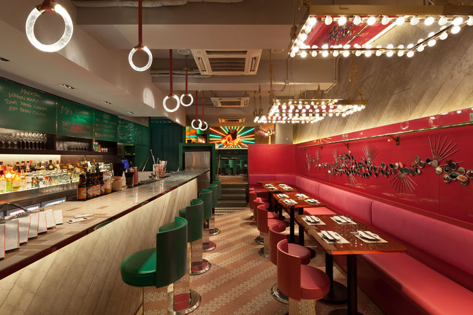 Mrs Pound Restaurant by NCDA, Hong Kong