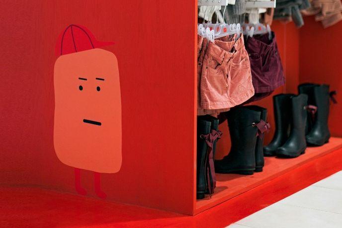 Zippy store by Dalziel Pow, Portugal