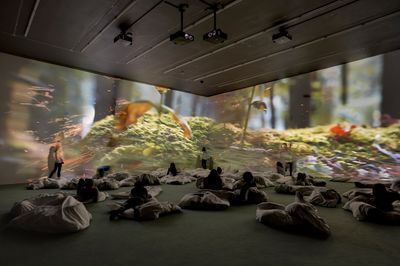 Pipilotti Rist, Worry Will Vanish, London