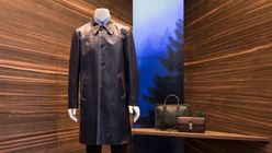 Hidden corners: Prada window displays offer a new perspective