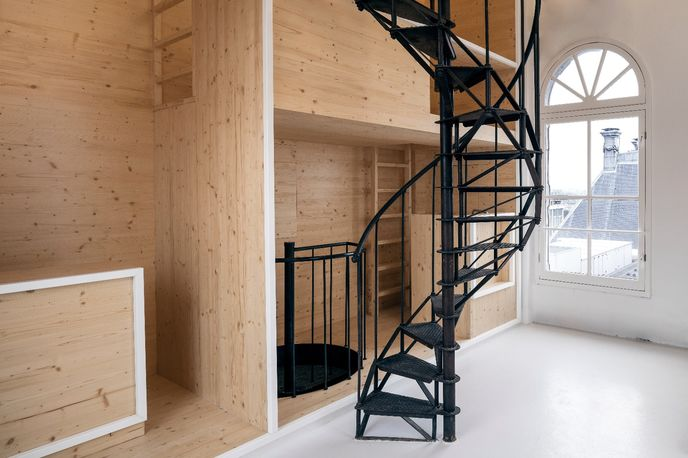 Room on the Roof by i29 for de bijenkorf and the Rijksmuseum, Amsterdam