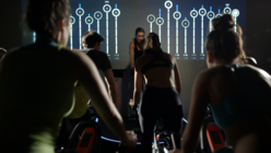Spin out: Gym channels competitive spirit with gamified workouts