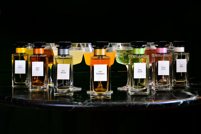 Parfums Givenchy Cocktails at The Green Room, Hotel Cafe Royal, London