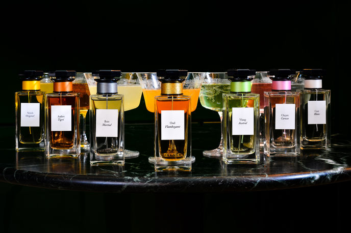 Parfums Givenchy cocktails at The Green Room, Hotel Café Royal, London