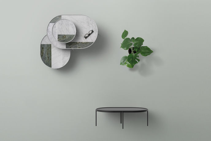 Marble Patch Table by Note Design Studio, Stockholm