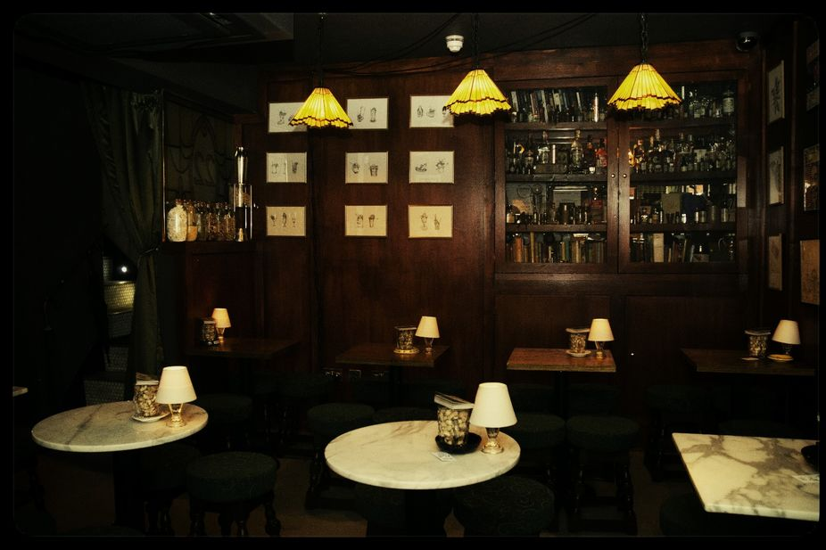LSN : News : In joke: Cocktail bar with stories behind the funny names