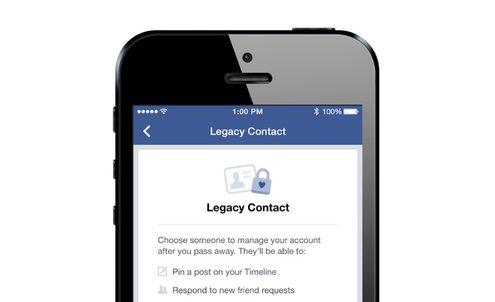Facebook lets users choose an heir to their digital legacy
