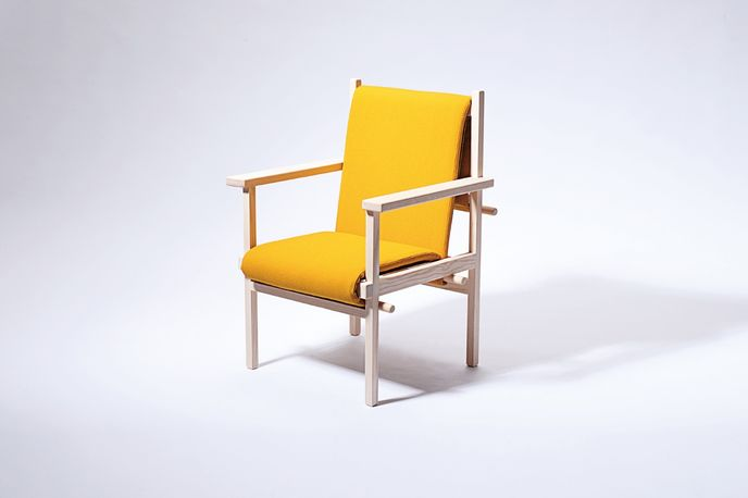 75+ Chair by Signe Haupt at The Royal Danish Academy of Fine Arts at Stockholm Furniture Fair
