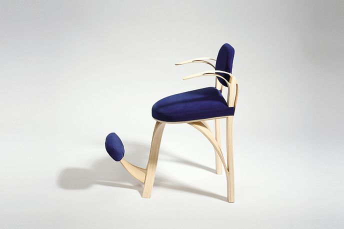 75+ Chair by Tor Nørgaard Klerk at The Royal Danish Academy of Fine Arts at Stockholm Furniture Fair