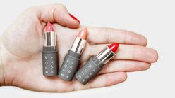 Size matters: Stowaway cosmetics are a perfect fit for women on the go