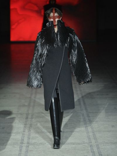 Gareth Pugh's autumn/winter 2015 show at London Fashion Week