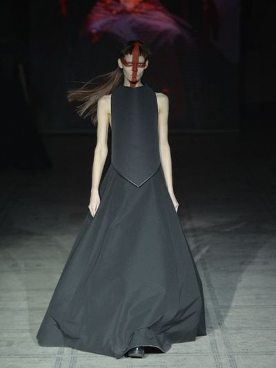 Gareth Pugh's autumn/winter 2015 show at London Fashion Week