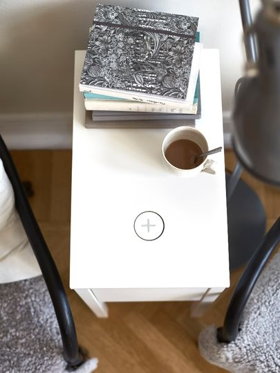 lsn news wire free zone ikea introduces range of induction charging furniture. Black Bedroom Furniture Sets. Home Design Ideas