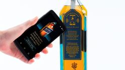 Johnnie Walker shows off its new anti-counterfeit smart bottle