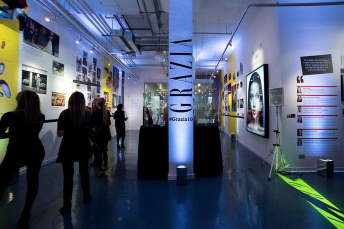 Grazia10 Exhibition at The Getty Gallery, London