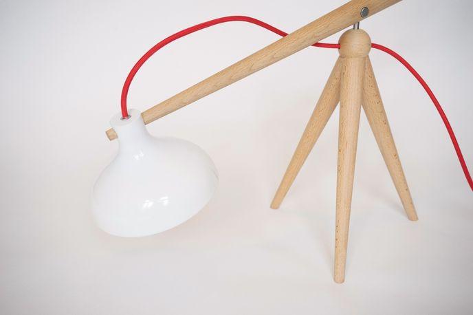 Balance Lamp by Weng Xingyu, Weimar