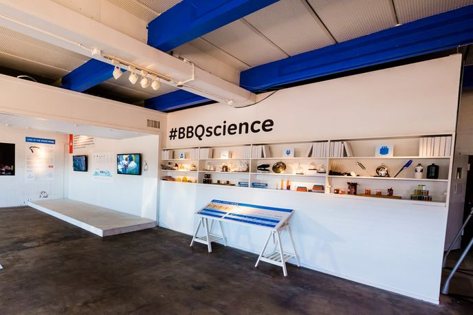General Electric's Barbecue Research Centre at SXSW, Austin