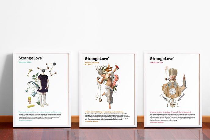 Organic energy drink by Marx for Strangelove, Australia