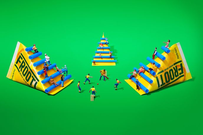 Frooti Campaign by Sagmeister & Walsh, India