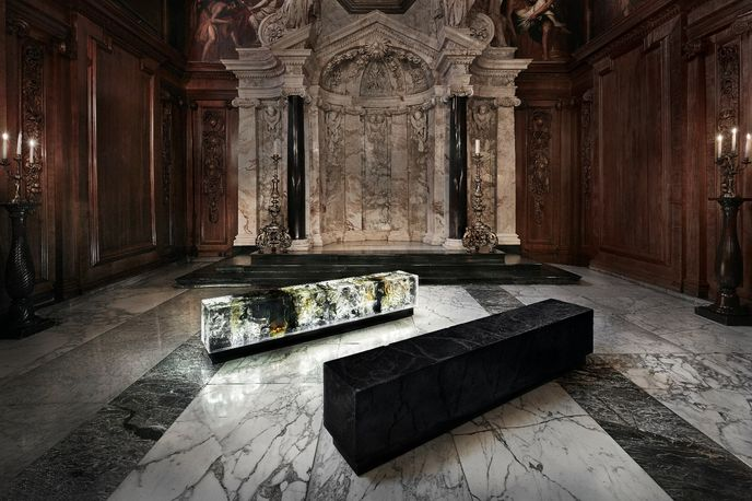 Counterpart by Tom Price at Make Yourself Comfortable at Chatsworth, Derbyshire