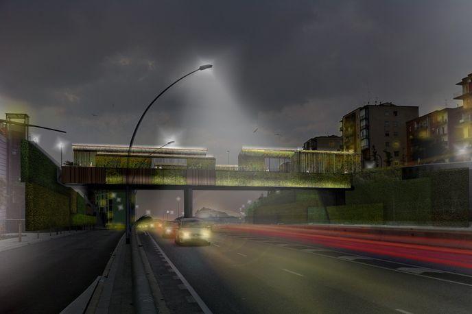 Sarajevo Bridge by BCQ Architects, Barcelona