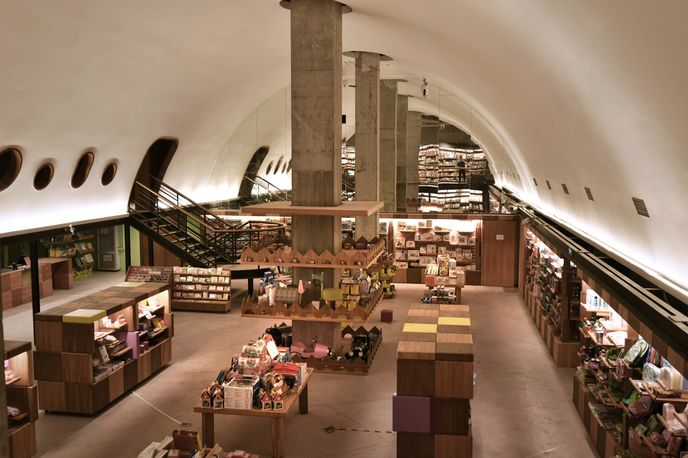 Fangsuo Bookstore by Chu Chih Kang Space Design, Chengdu
