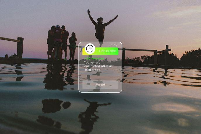 Life Clock App by rehabstudio, London