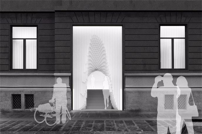 Installation by Snarkitecture for COS at Salone del Mobile, Milan