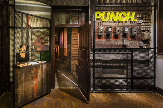 Punch Bar by Neri and hu, Shanghai. Photography by Dirk Weiblen