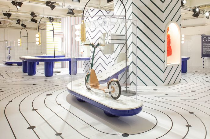 Urban Perspectives by Jaime Hayon for MINI at Salone Internazionale del Mobile, Milan