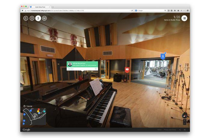Inside Abbey Road by Google, London