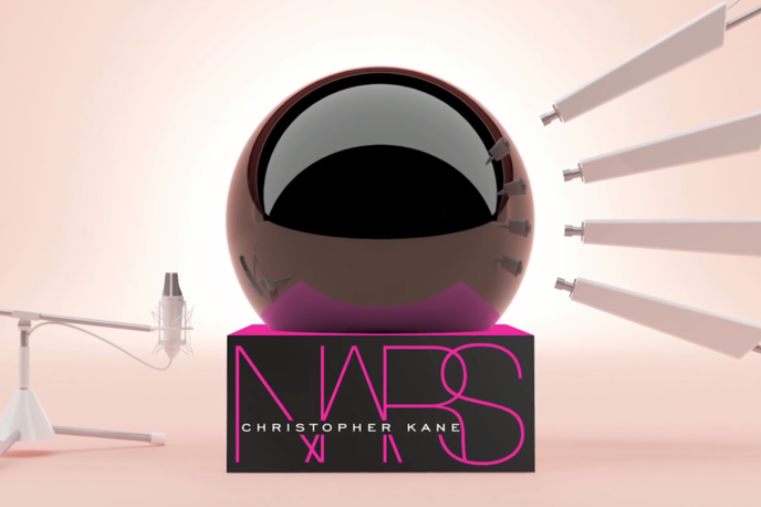 Nars and Christopher Kane digital Breakthrough campaign, UK