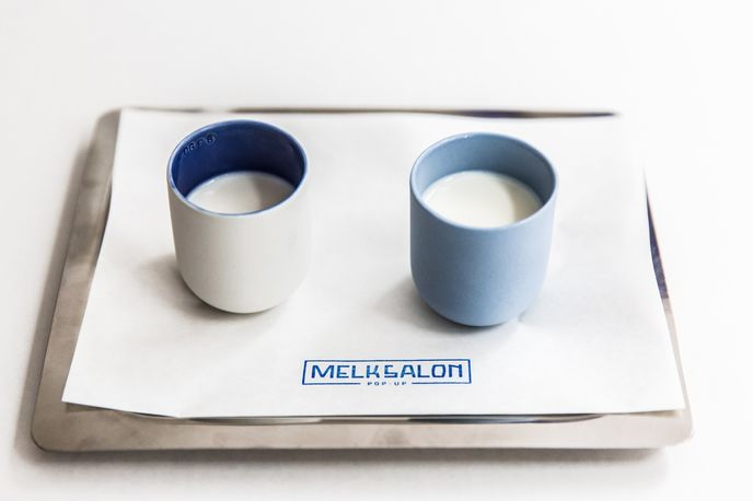 MelkSalon designed by Sietske Klooster, Amsterdam. Photography by Nichon Glerum