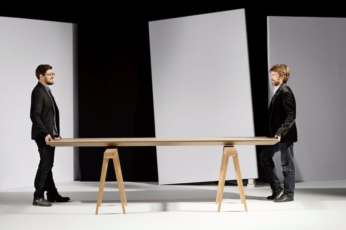 Climate Control Table as part of the Zero Energy Furniture range by Jean-Sébastien Lagrange and Raphaël Ménard, Milan