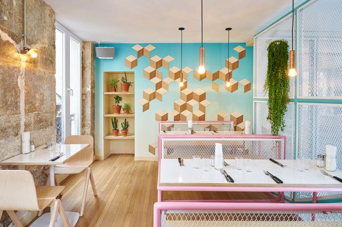 PNY restaurant designed by CUT architects, Paris