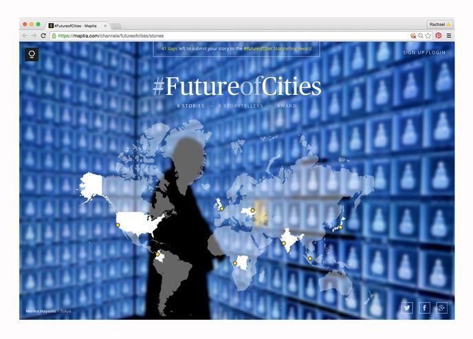 #FutureofCities by Maptia