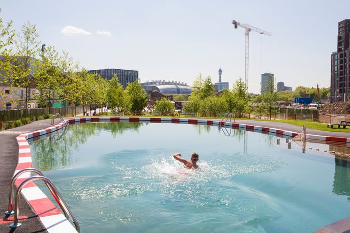 Of Soil and Water: King's Cross Pond Club by Ooze Architects and Marjetica Potrč, London