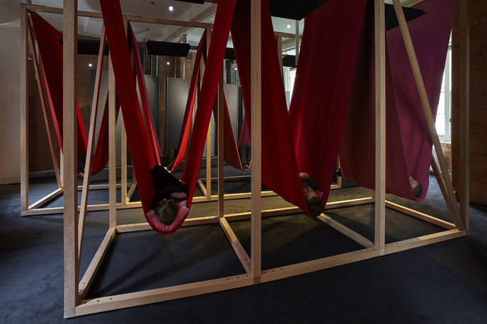 Hypnos: The architecture of sleep by Sto Werkstatt, HASSELL and Draisci Studio, London