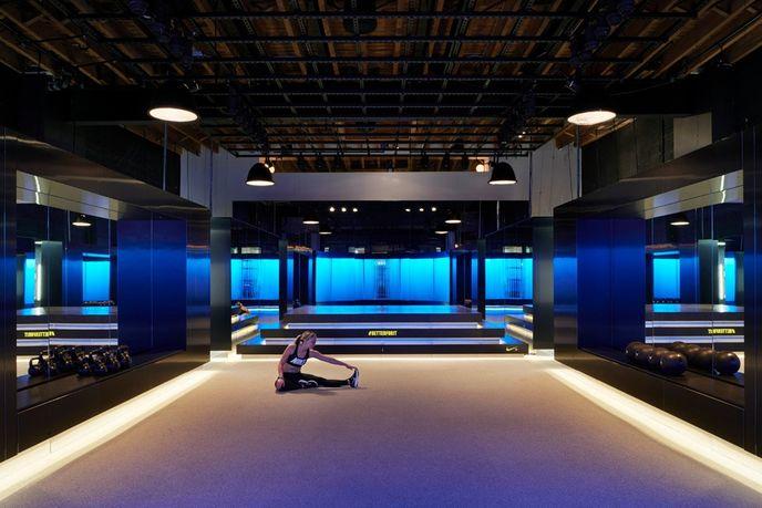 45 Grand designed by Rafael de Cárdenas for Nike, New York