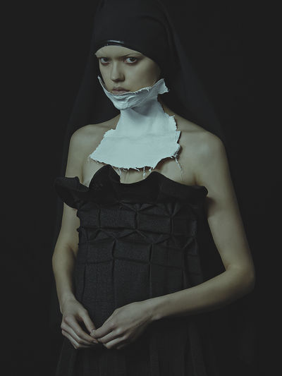 LaReligieuse, precollection by E Wha Lim. Photography by Nhu Xuan Hua