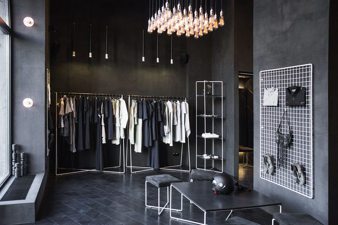 Podolyan store designed by FILD, Kiev