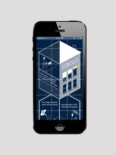 Ballantine's Whisky Instagram campaign designed by Work Club agency, London