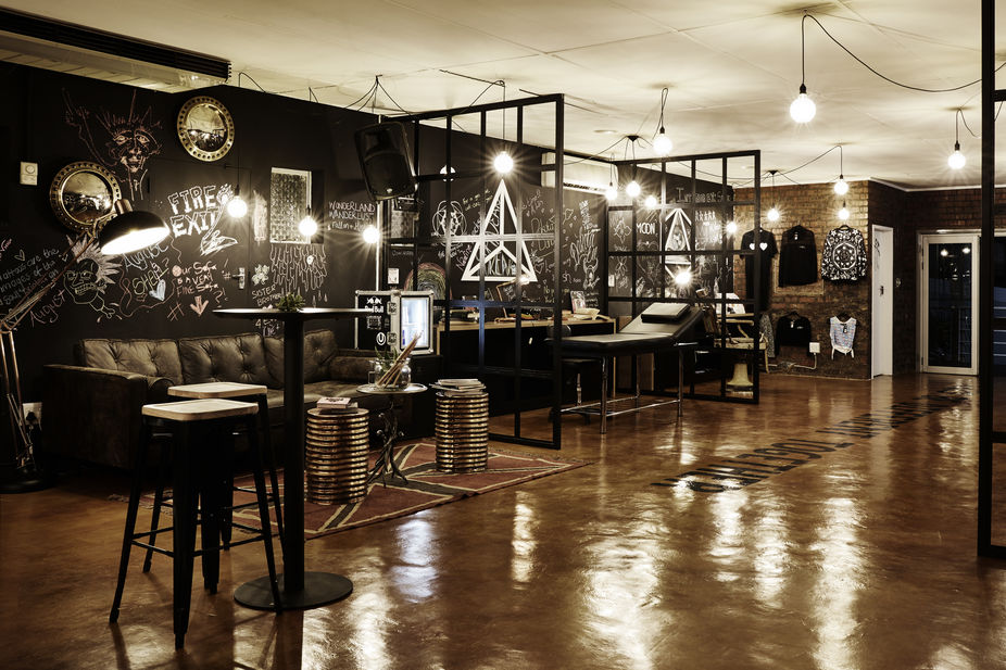 Lsn news tattoo temple for Tattoo shop design