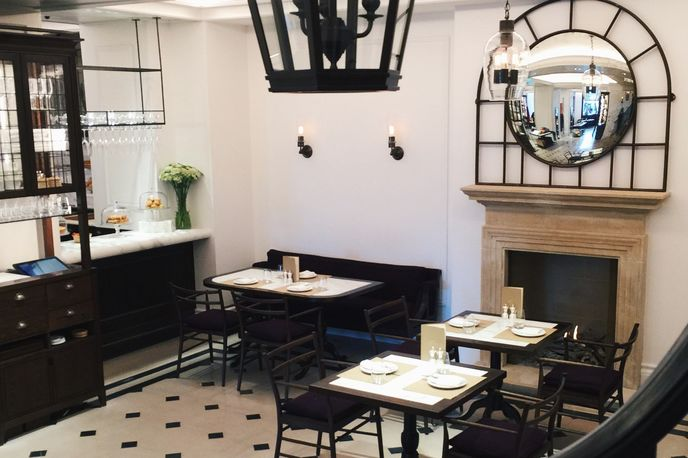 Thomas's café at Burberry Regent Street store, London