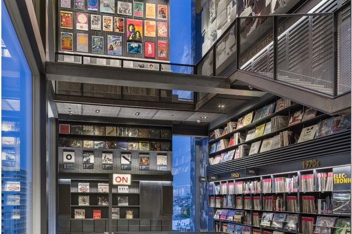 Hyundai Card Music Library designed by Ga.A Architects and Gensler, Seoul