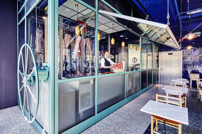 The Roast Room designed by Studio Modijefsky and Studio Molen, Amsterdam. Photography by Maarten Willemstein