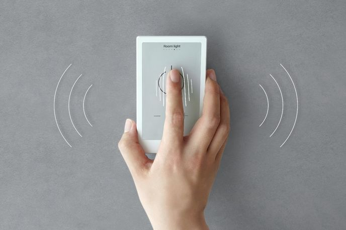 HUIS smart remote control launched by Sony's First Flight platform, Tokyo